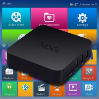 Цифровая IPTV приставка, TV Box MXQ Amlogic S805 Android 4.4 Quad-Core WiFi Kodi 4K Smart set TV Box 8GB XBMC