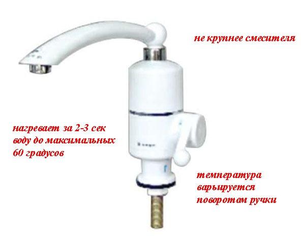 Проточный нагреватель для воды своими руками